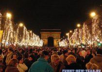 Франция на новый год